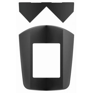 Theben Hoekmontagehoek t.b.v.theluxa s150-s180-s360 zwart