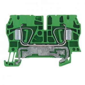 Weidmuller Z-serie aardrijgklem 0,5-4mm Groen/geel 1632080000