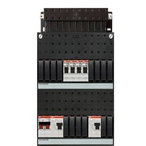 ABB 4x achter 2x 30ma+hs 1-f binnenwerk+deksel