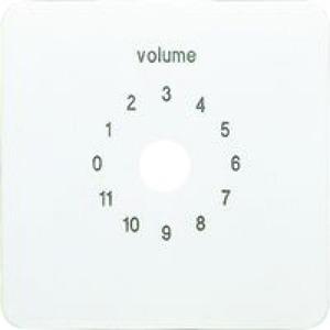 Jung Afdekking voor volumeregelaar (0 ? 11):