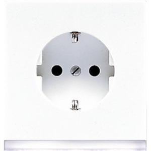 Jung LS range wandcontactdoos RA 1V KV Wit LS520-OWWLEDW