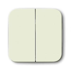 ABB Busch-Jaeger SI bedieningselement Aan-/uit-schakelaar Tweedelige wip Crèmewit (elektrowit) 2CKA001434A0430