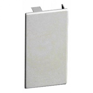 Attema Eindstuk voor KG 110x60 wit RAL9010