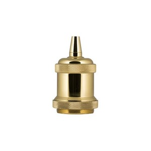 Bailey RETRO LAMPHOLDER ALU E27 COMPL. GOLD