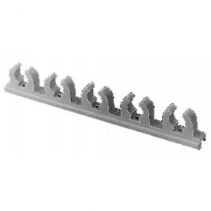 OBO Klemstrook 5-V 11-12mm sleufb. 16-19mm, PE, zuiver wit, RAL 9010