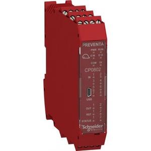 Schneider Electric CPU mod. 8 ing 2 uitg (dubb) Schroefconn