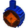 ABB Multifunctionele inbouwdoos 40/50mm 16/19mm md4050