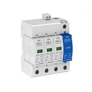 OBO SurgeController V10 3+NPE met optisch signaal 280V