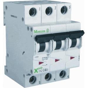 Eaton Installatieautomaat FAZ-C50/3 , C 50A , 3 Polig , 15 kA