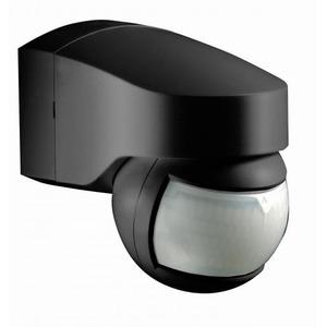 Newlec bewegingsschakelaar Bewegingsmelder Zwart IP44 45/200° RZ1400131108
