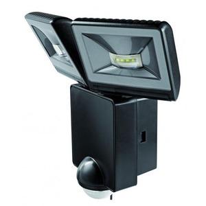 Theben LED straler met bewegingsmelder voor wandmontage, 16W, zwart