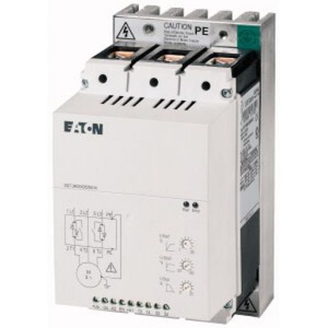 Eaton SOFTSTARTER 200-480VAC(50/60HZ), 24VAC/DC STUURSPANNING 55KW 100A