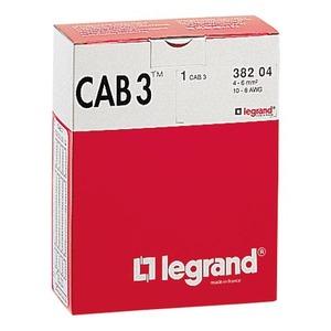 Legrand CODEERTEKEN CAB 3 BASISPAKKET CIJFERS 0.15-0.5MM2 GROEN