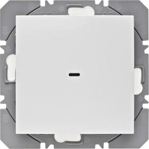 Berker Berker.Net, KNX-RF wandzender 1-voudig, batterij, S/B pwit gl.