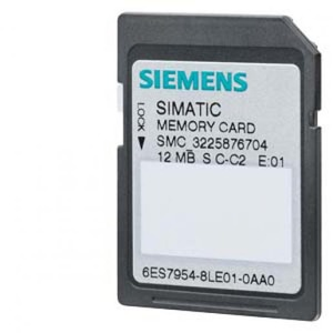 Siemens MEMORY CARD S7-1X00 CPU/SINAMICS, 3,3 V FLASH, 4 MBYTE