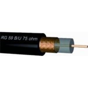 Draka Coax rg 59 b/u 75 ohm bk 0,58 mm