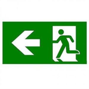 Eaton Blessing Bl iso pictogram voor vistraled armaturen pijl links