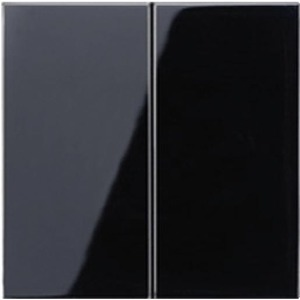 Jung LS range bedieningselement Tweedelige wip Zwart LS995SW