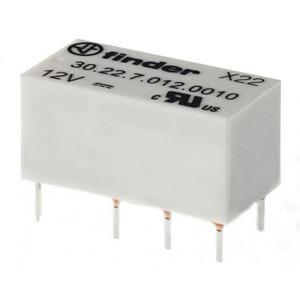 Finder RELAIS 2W 2A 12VDC S.
