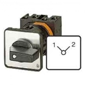 Eaton Stappenschakelaar 3p ie=12a fs 1-3 45° vast 48x48mm inbouw