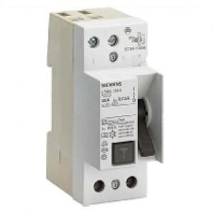 Siemens aardlekschakelaar 2p 25A 0,03A 5SM33126