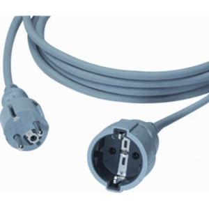 HK / Haka aansluitleiding Randaardesteker recht Rubber koppeling 3G1,5mm² 5,0m 523300705