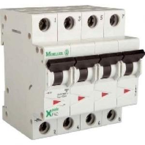Eaton Installatieautomaat FAZ-C32/4 , C 32A , 4 Polig , 15 kA