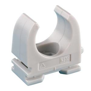JMV Opendrukzadel pp halogeenvrij 16mm.schroefgat 5mm grijs