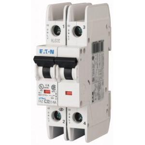 Eaton Installatieautomaat FAZ-D0,5/2-NA , D 0,5A , 2 Polig , 10 kA, Type NA