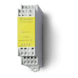 Finder RELAIS GEDW.2M+2V 6A 24VDC