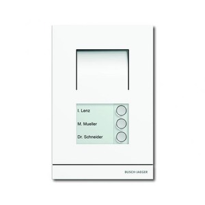 ABB Busch-Jaeger WELCOME AUDIO BUITENPOST WIT 3 BELDR