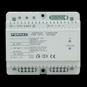 Fermax VOEDING 18VDC/1,5A DIN6