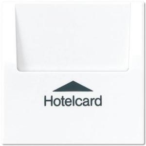 Jung LS range bedieningselement Aan-/uit-schakelaar Hotelkaart Wit LS590CARDWW