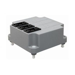 ABB Conn.deksel, 3x3p, grijs+aansluitdr