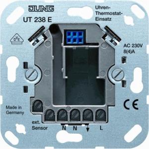 Jung bedieningselement Thermostaat Crèmewit (elektrowit) UT238E