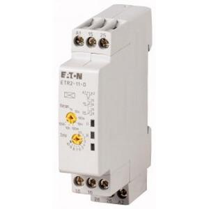 Eaton Tijdrelais ETR2-12-D, (24-240VAC50/60HZ, 24-48VDC),Afvalvert., 2 wiss.