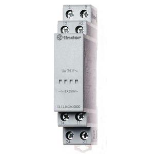 Finder CALL/RESET RELAIS 1W+1M 12VAC/DC