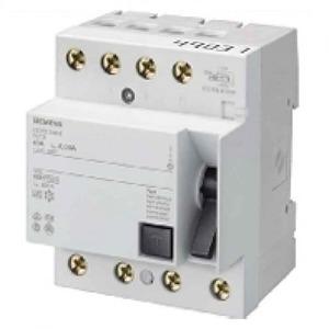 Siemens aardlekschakelaar 4p 40A 0,03A 5SM33446