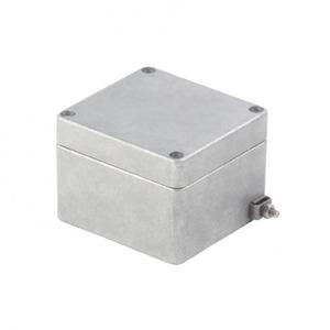 Weidmuller KLIPPON K4 EX Enclosures, Aluminium AlSi12, 82 mm, 72 mm, 130 mm