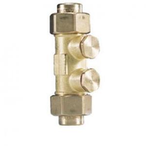 Watts Keerklep ps l= 128 aftap+contr.28mm soldeer k