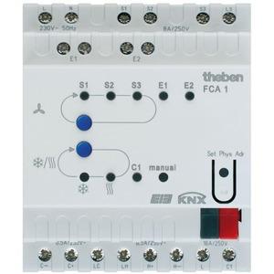 Theben Fca 1 knx fan coil-actor t.b.v.2-/3-puntsregeling