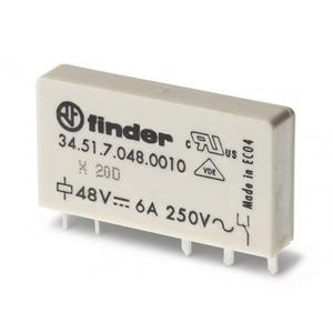 Finder RELAIS 1W 6A 48VDC S.