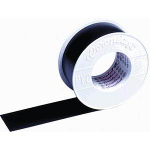 Coroplast 302 zelfklevende tape 50mmx25m PVC Zwart 443500