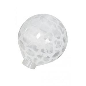 Bailey Glass Bulb G125 Clear Kroko Ice for LED Stick