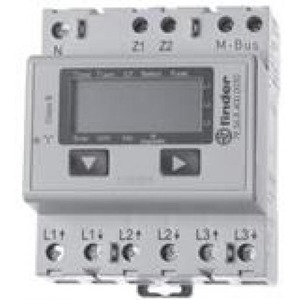 Finder KWH METER 3X6A LCD M-BUS