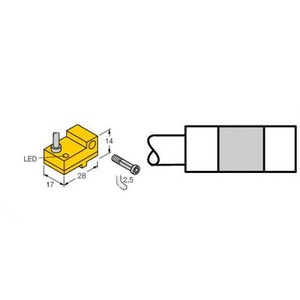 Turck Magnetic field sensor for pneumatic cylinders