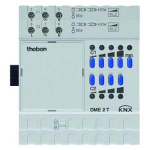 Theben KNX Universele-Dimactor 2-voudig, uitbreidingsmodule