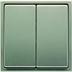 Jung LS range bedieningselement Tweedelige wip Roestvaststaal ( RVS ) ES2995