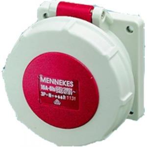 Mennekes INB.WCD 16A 2P+A 230V IP44 SCHUKO BLAUW