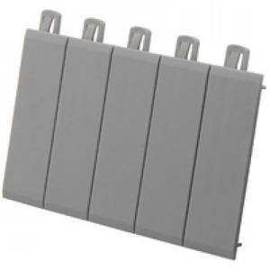 Legrand Plexo afdekprofiel voor kast/lessenaar Kunststof 87,5mm Grijs 001961